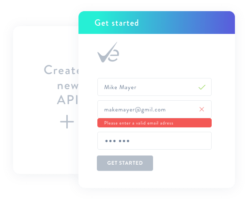 Implementation of EmaiListVerify API in forms